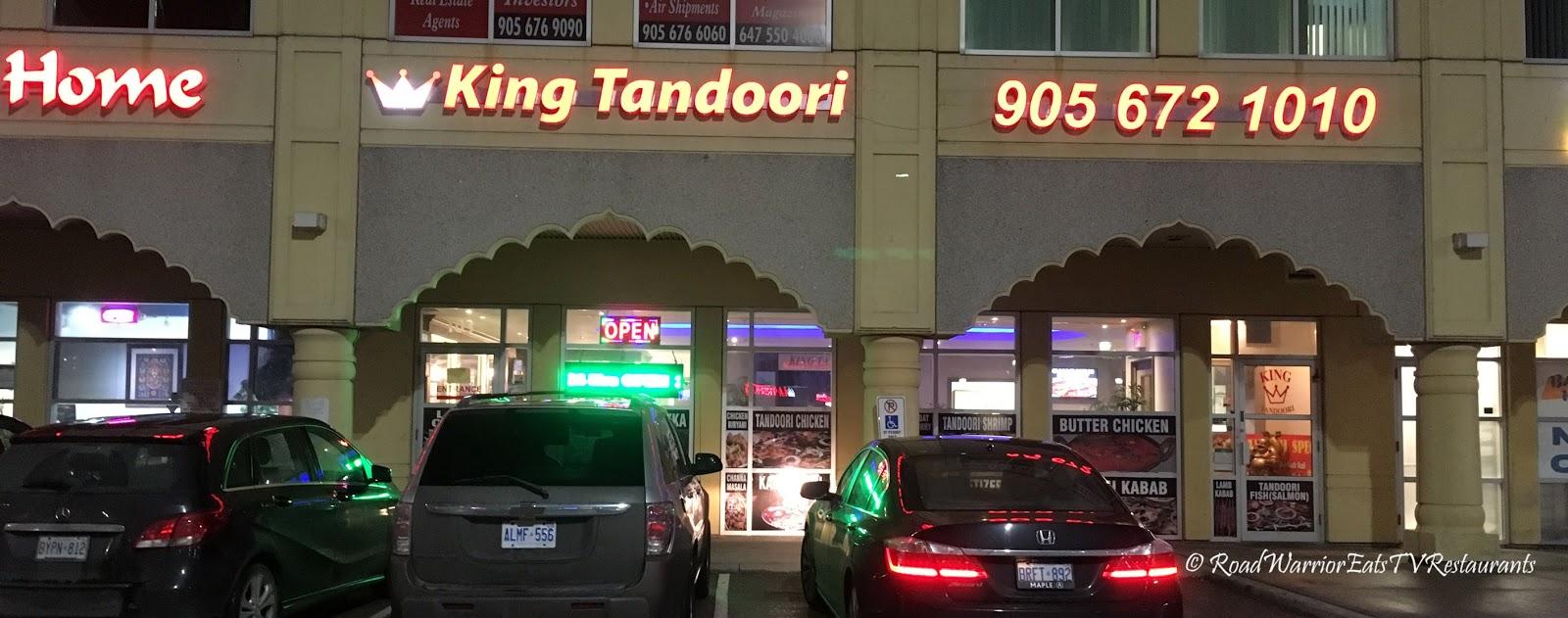road warrior must eat restaurants as seen on tv king tandoori