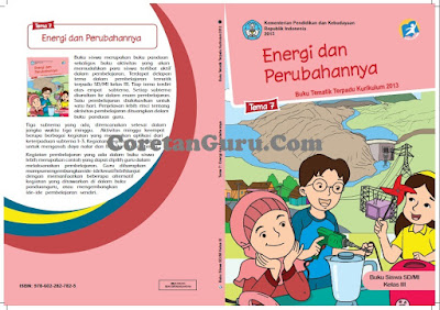 Buku Guru Dan Buku Siswa Kelas 3 SD/MI Kurikulum 2013 Semester 2