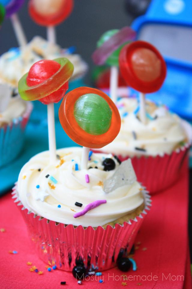 galaxy cupcakes recipe