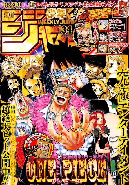 Weekly Shonen Jump 34 2016.