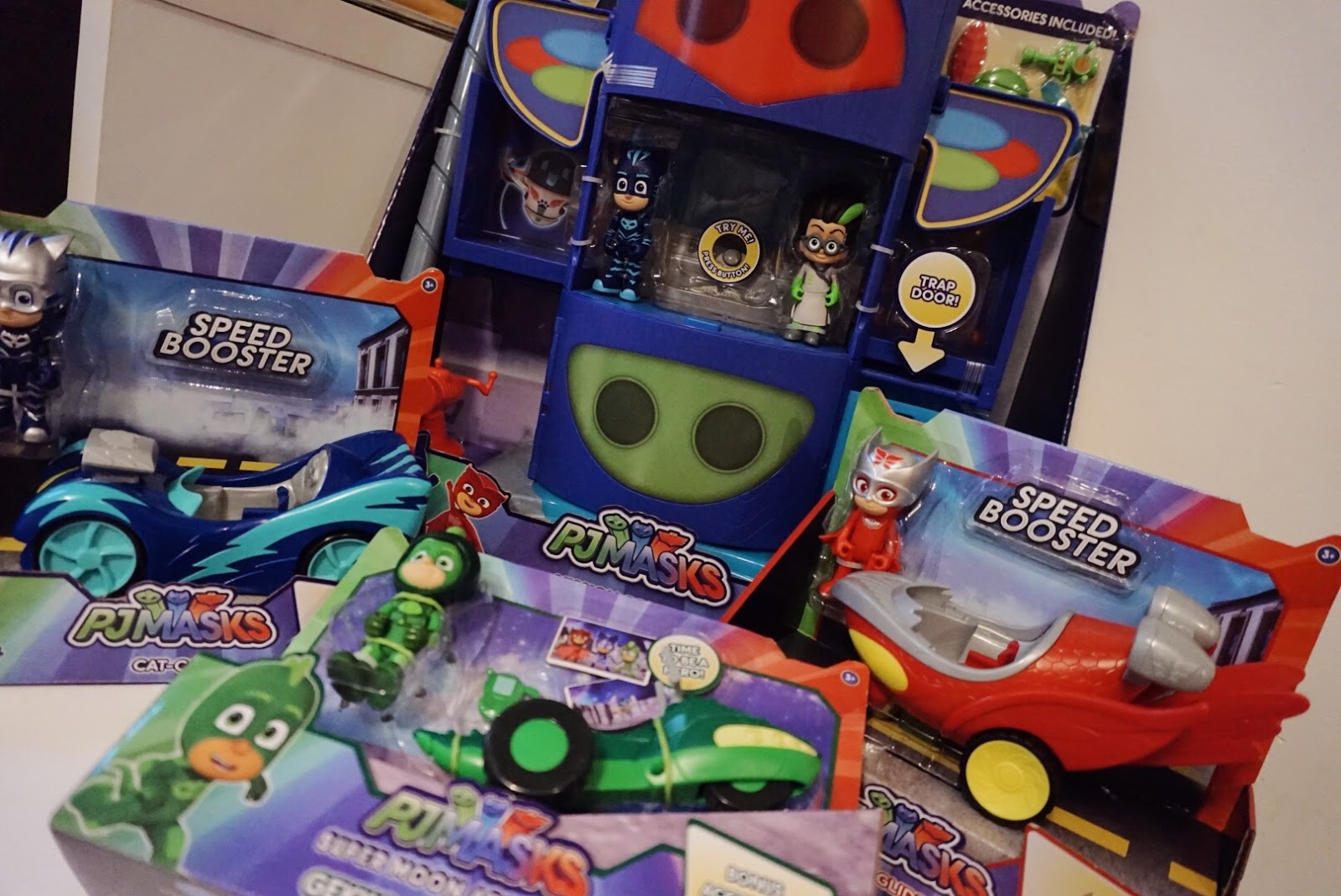 Pj Masks Supermoon Adventure Toys Review