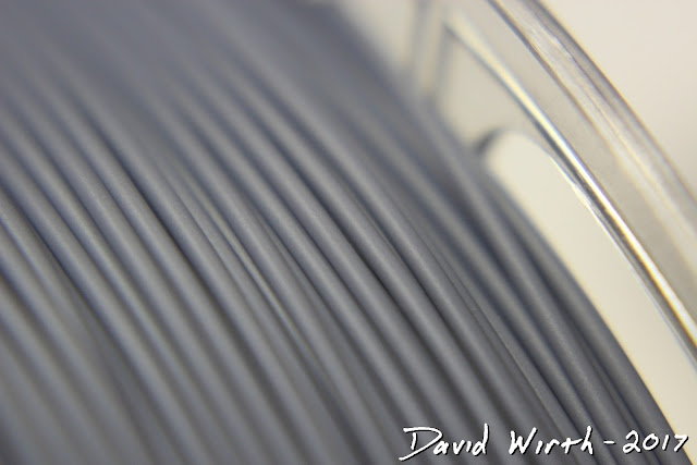 what is filament made of, close up view
