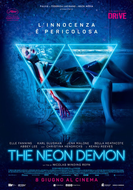 The Neon Demon Refn Poster Recensione
