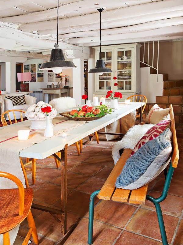 home garden une maison de campagne en espagne. Black Bedroom Furniture Sets. Home Design Ideas