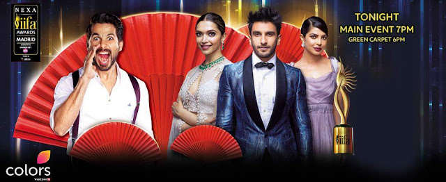 17th IIFA Awards 2016 Colors Tv Full Show,Venue,Timing,Promo,Wiki Info