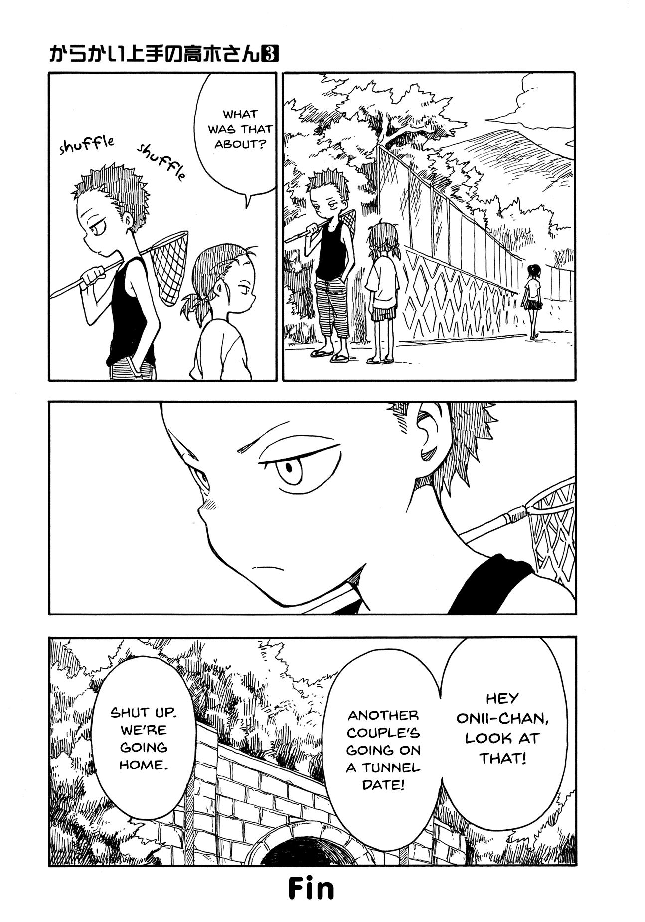 Karakai Jouzu no Takagi-san - Chapter 33