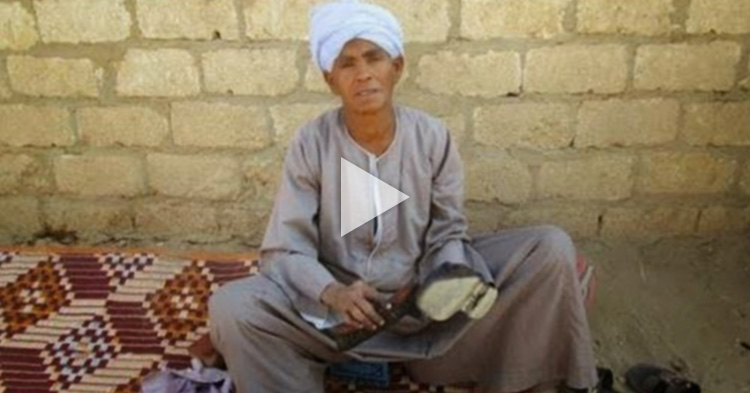Egyptian Mother disguised as a Man to work and support her family