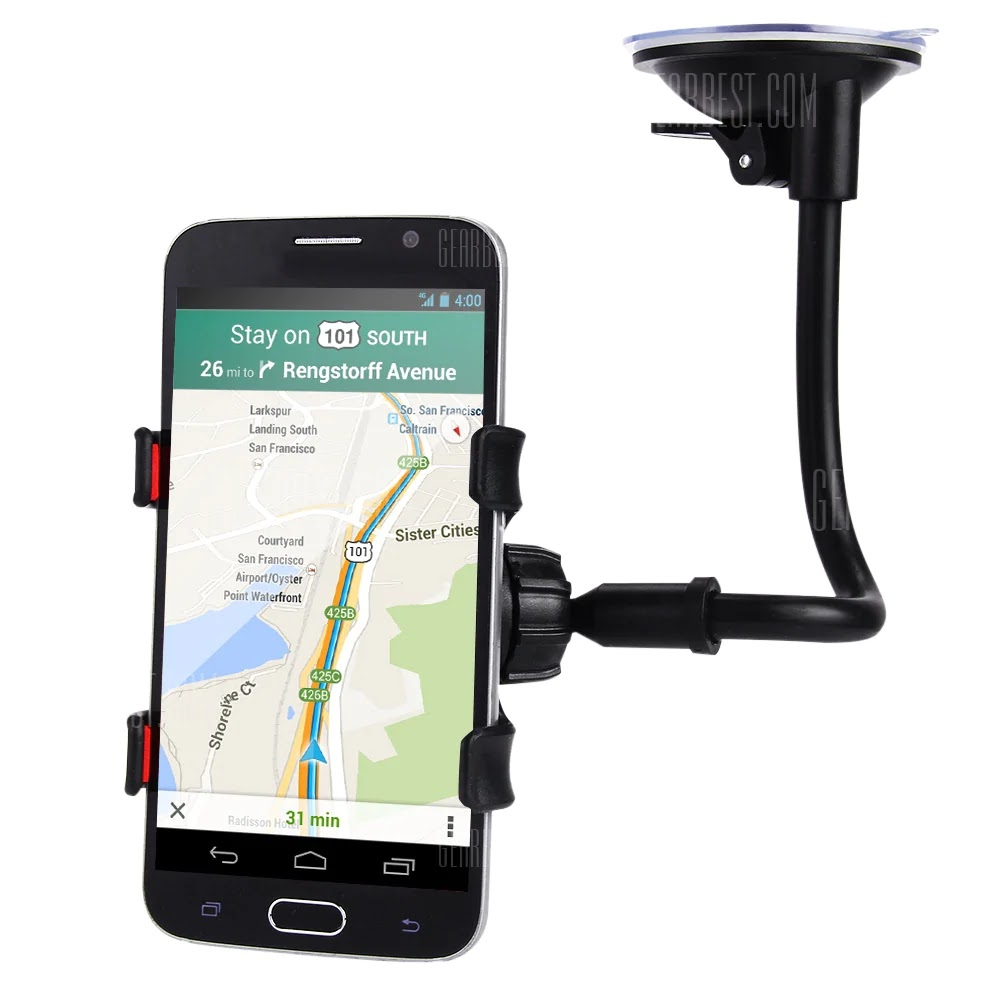 gocomma Long Arm Car Windscreen Cellphone Holder Coupon