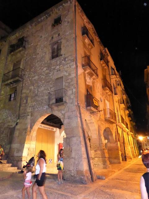 Tarragona, barrio medieval de noche