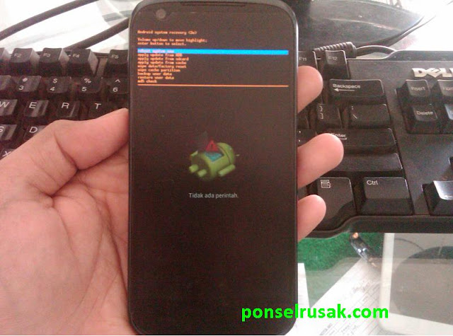 How to enter recovery mode on Andromax v