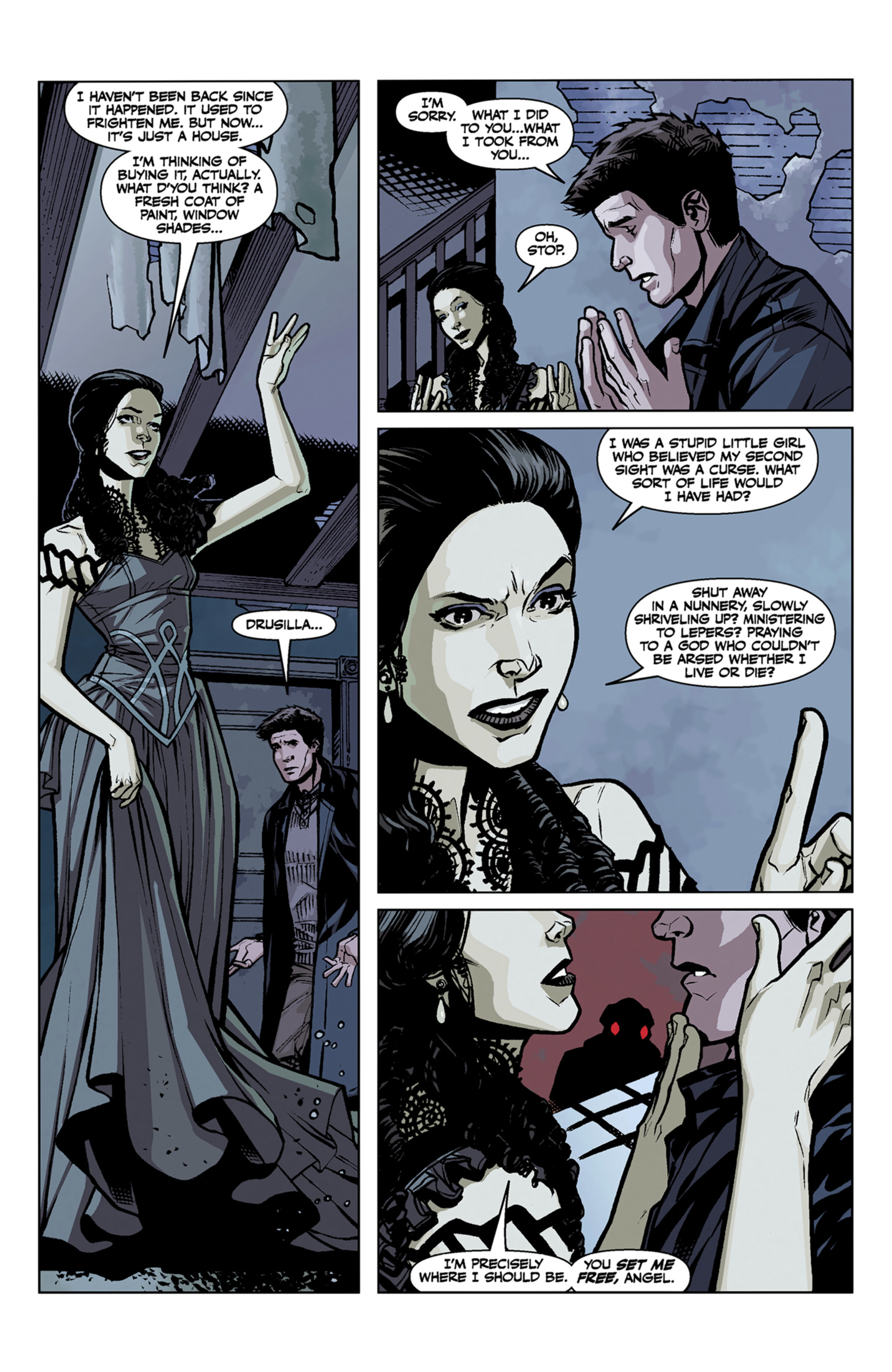 Read online Angel and Faith comic -  Issue #7 - 16