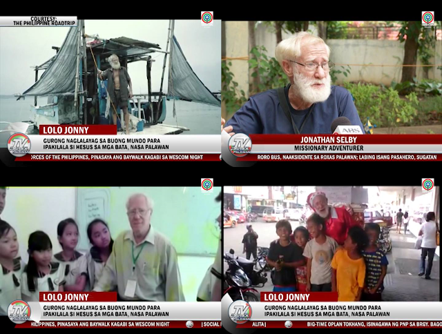Old Teacher Travels The World To Teach About Jesus, Now In Palawan