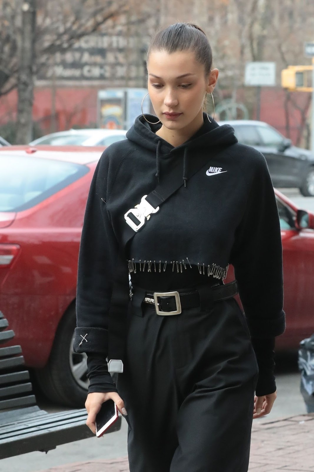 Bella Hadid – Urban Street Style in New York