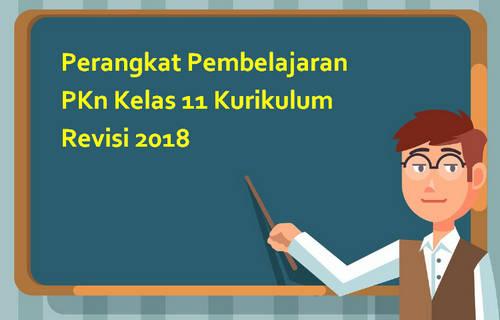 Perangkat Pembelajaran PKn Kelas 11 Kurikulum Revisi 2018