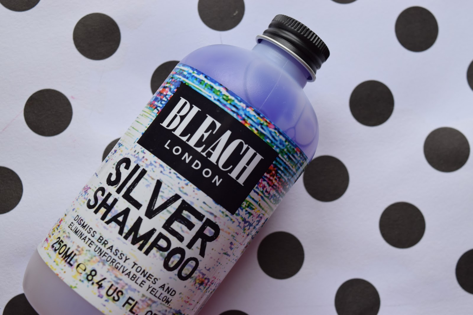 Bleach London silver shampoo empties