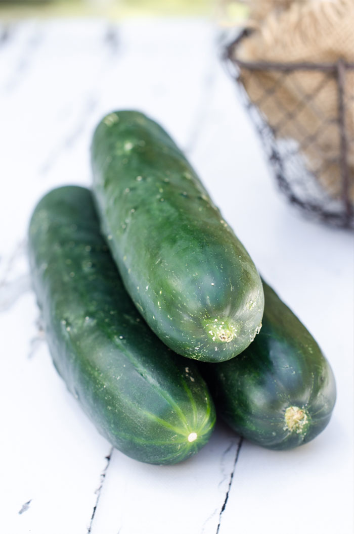Learn how to choose the best cucumbers at the market and how to store them once you bring the fruit home.  |  www.andersonandgrant.com