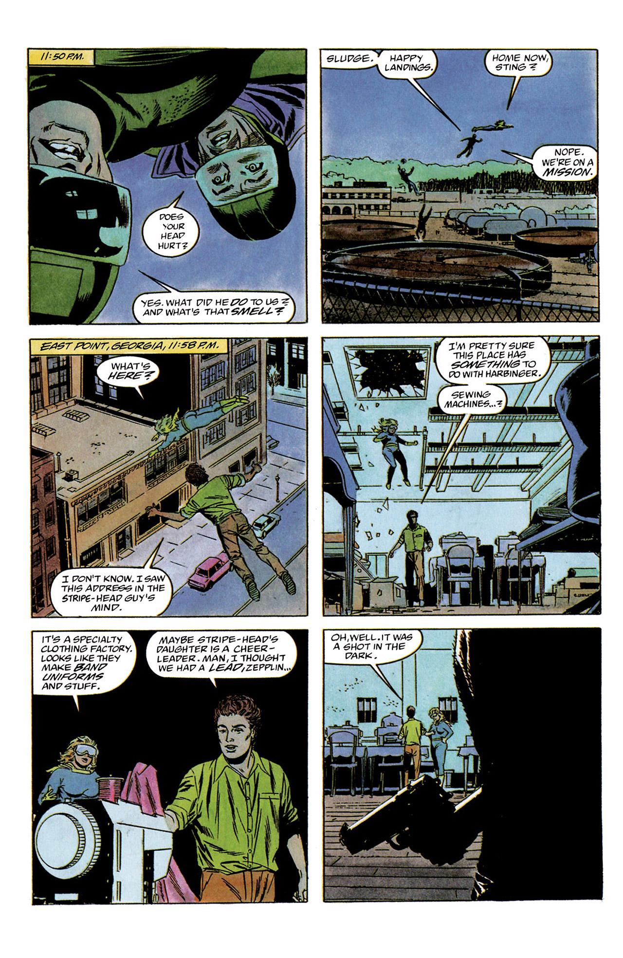 Read online Harbinger (1992) comic -  Issue #2 - 13
