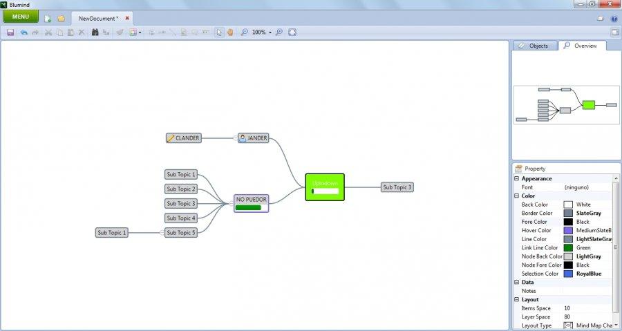 BluMind programma per fare mappe concettuali gratis