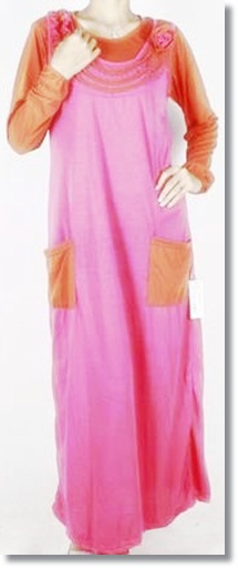 Koleksi model baju gamis muslimah terbaru