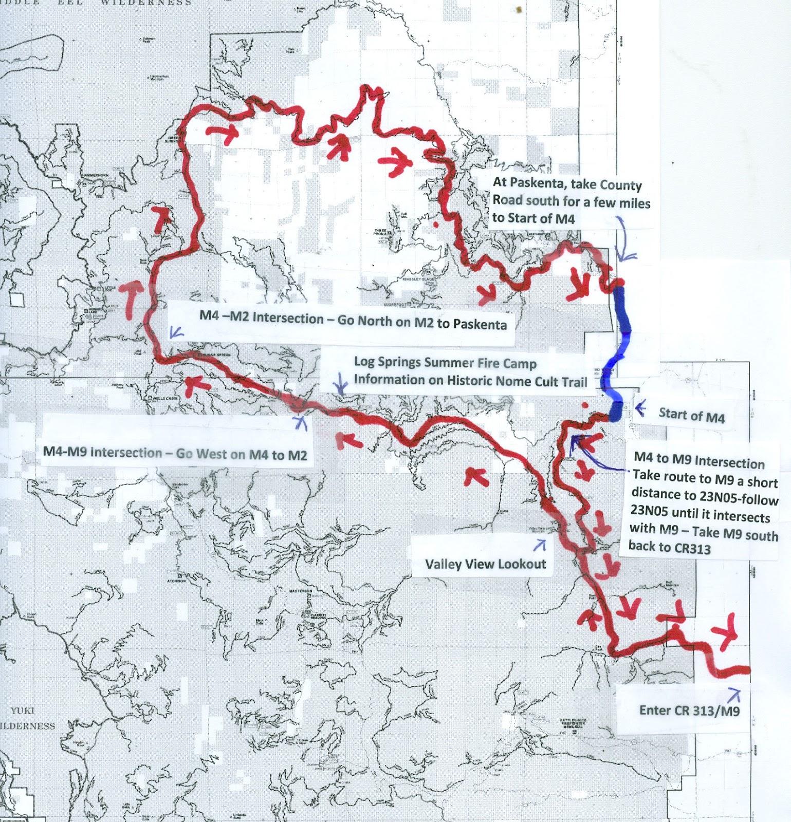 map of adventure loop