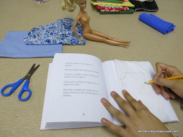 como hacer una falda para muñeca