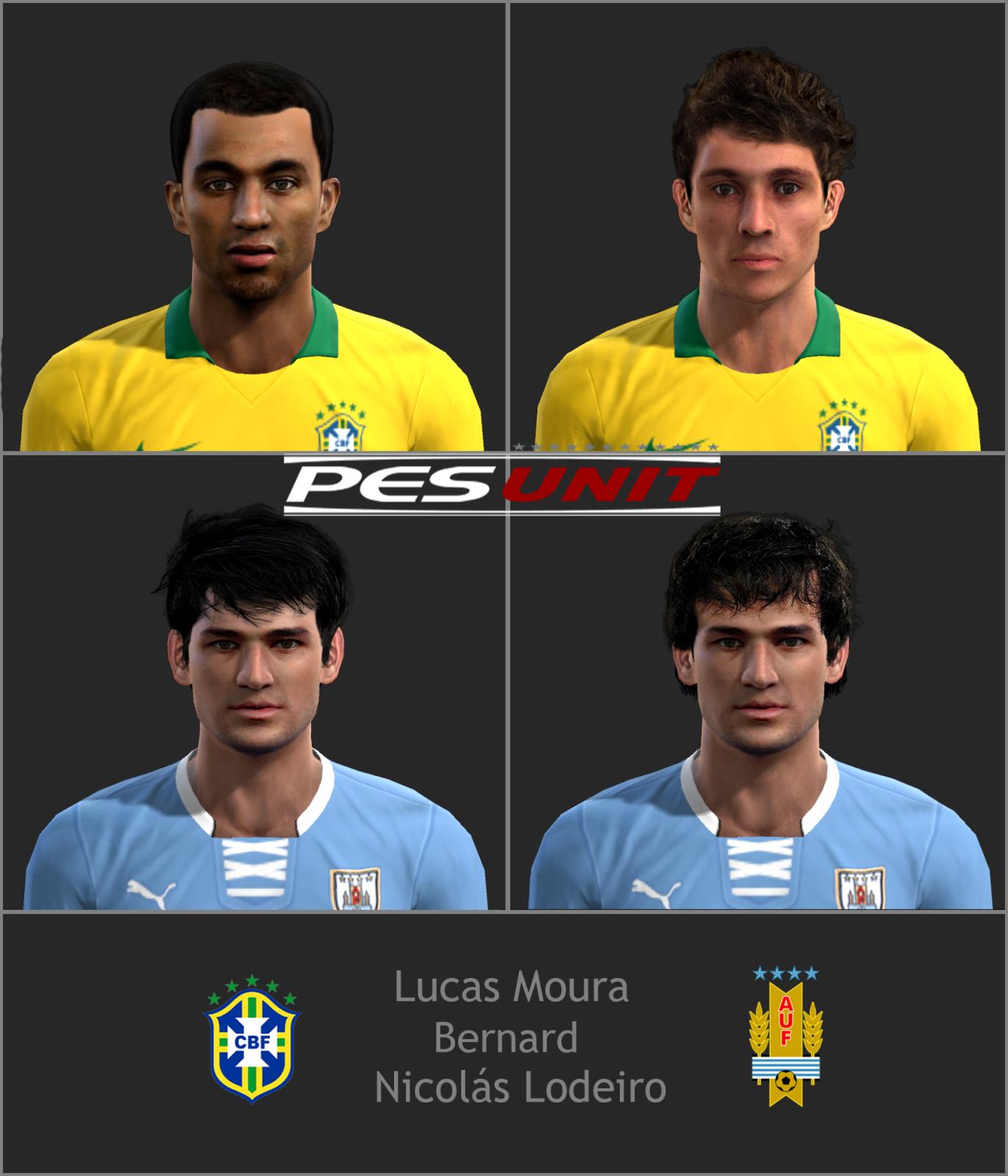 Coisas Para Pes Pes 2013 Face Lucas Moura: Tudo Para Seu PES 2014, 2013 E 2012