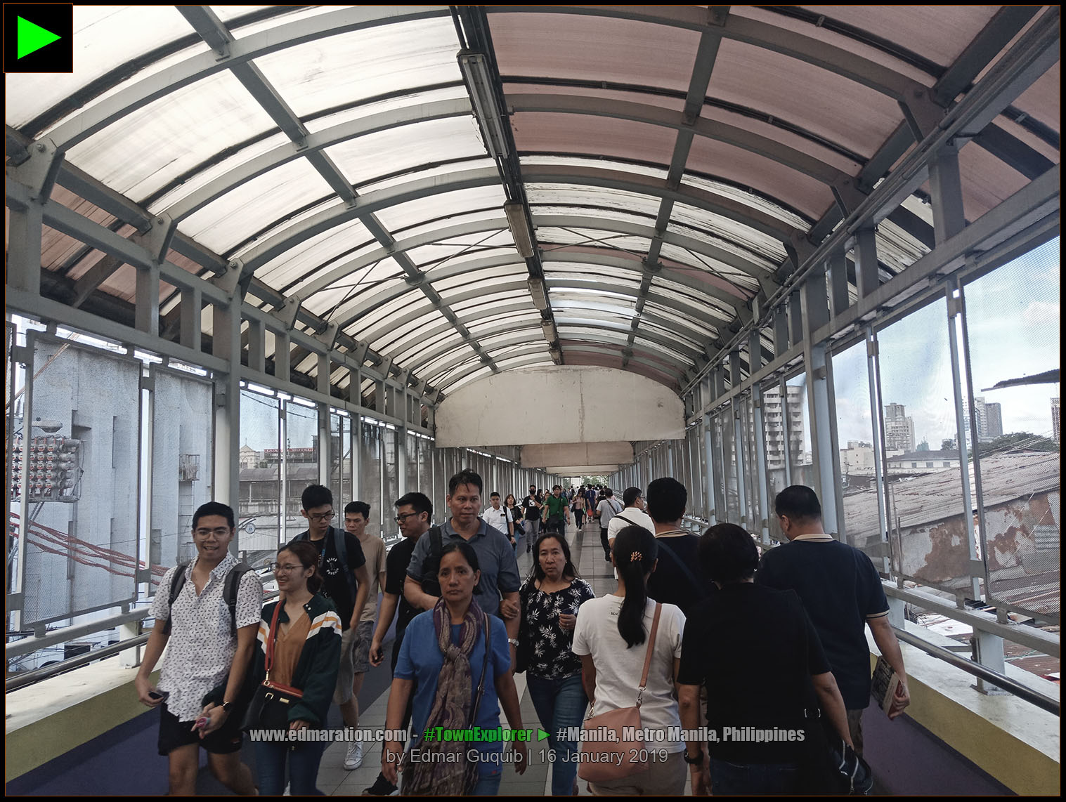 RECTO LRT STATION, MANILA