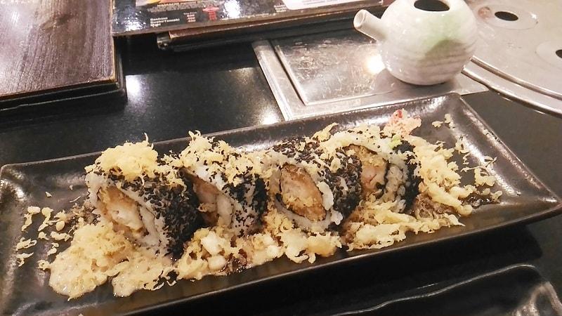 Ogetsu Hime, Goma Ebi Tempura Roll