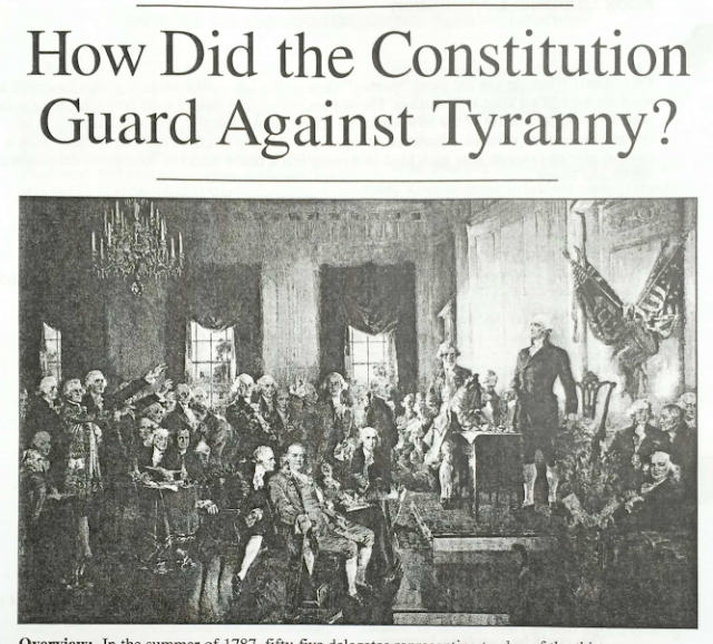 how the constitution guards against tyranny Start studying how did the constitution guard against tyranny learn vocabulary, terms, and more with flashcards, games, and other study tools.