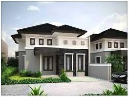 gambar rumah minimalis dengan warna cat depan yang elegan