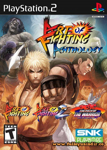 Art of Fighting Anthology PS2