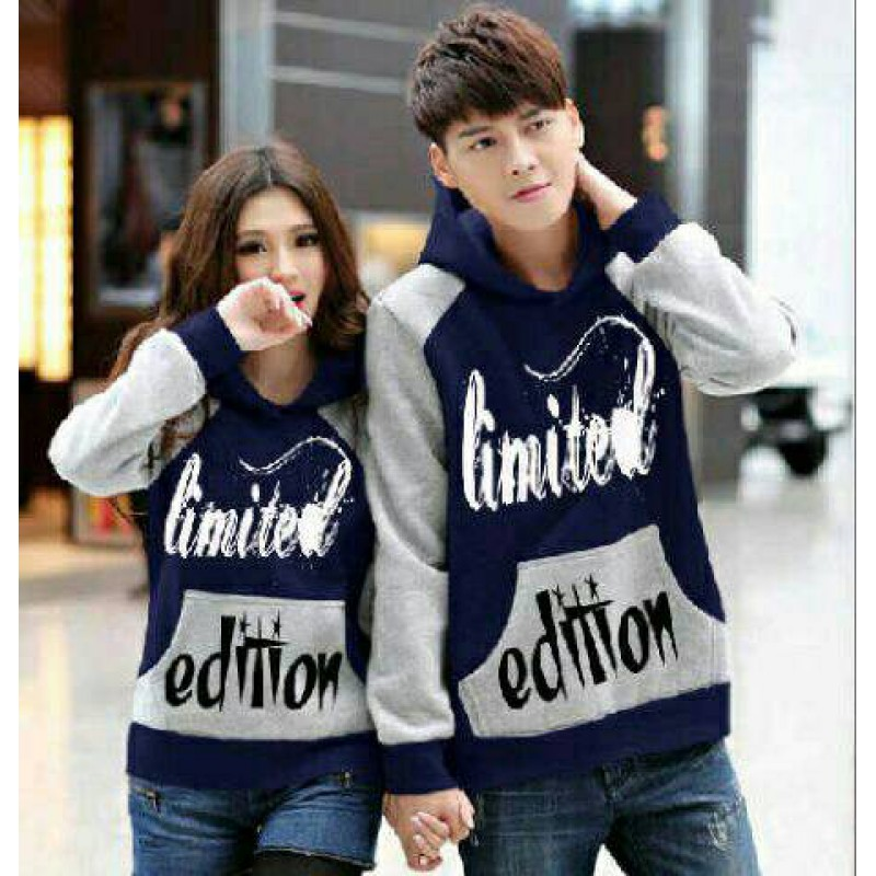 Jual Online Jumper Limited Edition Couple Murah Jakarta Bahan Babytery Terbaru