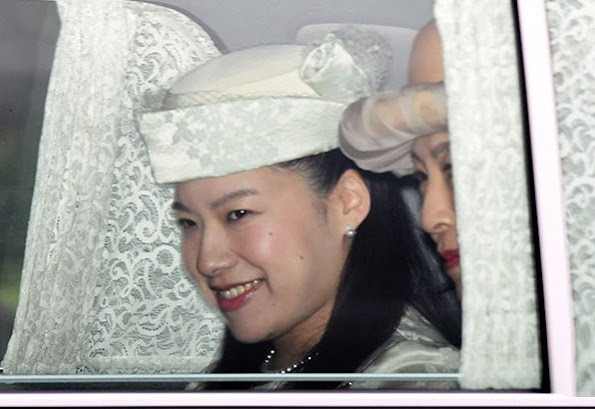 Princess Ayako officially got engaged to Kei Moriya with a traditional ceremony held in Tokyo. Emperor Akihito and Empress Michiko