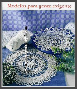 carpeta tejida con ganchillo