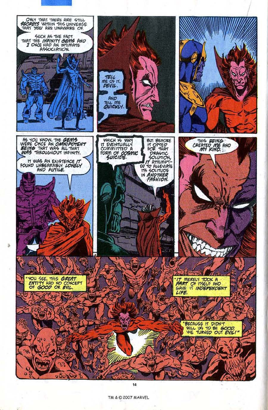 Read online Silver Surfer (1987) comic -  Issue #45 - 16
