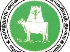 TNAHD ( Tamil Nadu Animal Husbandry Department ) Tiruvallur Recruitment 2018