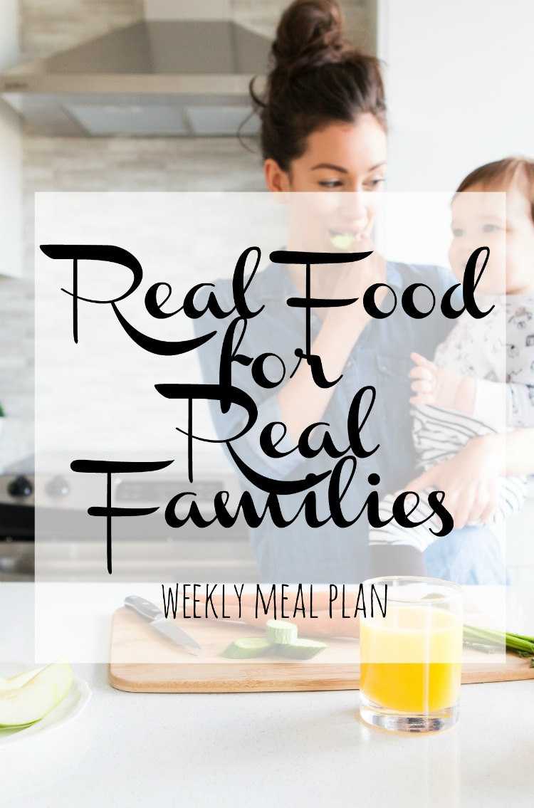 Weekly Family meal Plan 2017 Week 24
