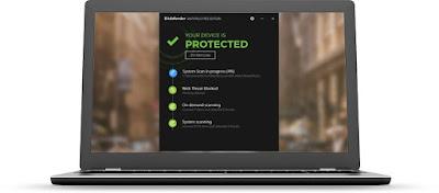 برنامج Bitdefender Antivirus Free Edition