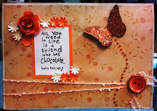 Handmade Cards For Friendship