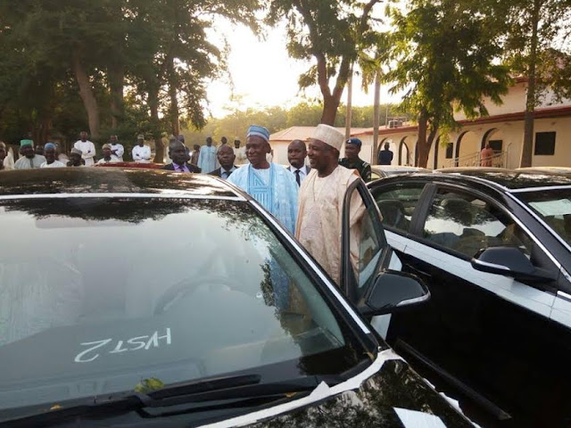 Photos: Kebbi state government distributes brand new cars worth N249m to state assembly members