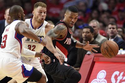LA Clippers vs Portland Trail Blazers
