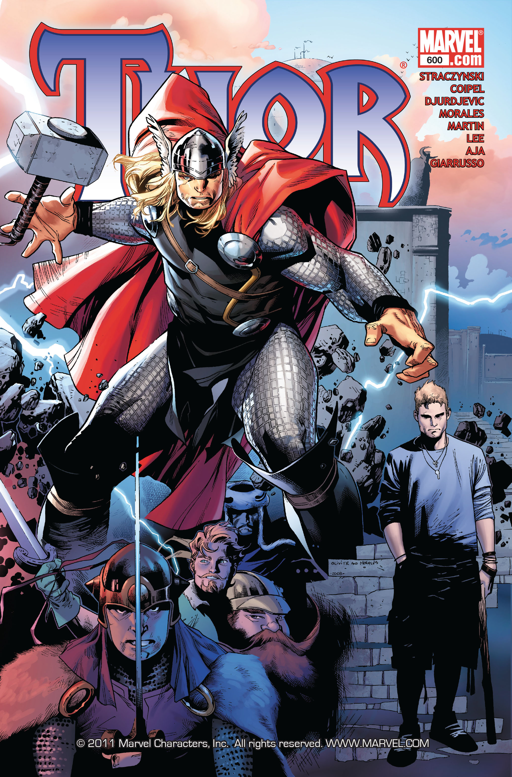 Thor (2007) Issue #600 #13 - English 1