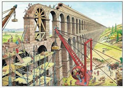 Construcciones romanas, acueducto