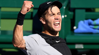 Coric battles back to upset Anderson at Indian Wells