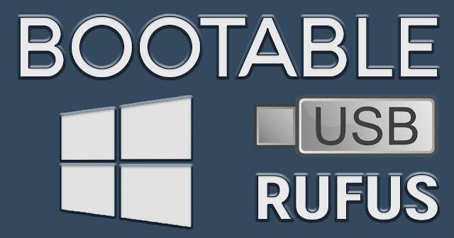 Cara Mudah Membuat Bootable USB Windows Menggunakan Rufus