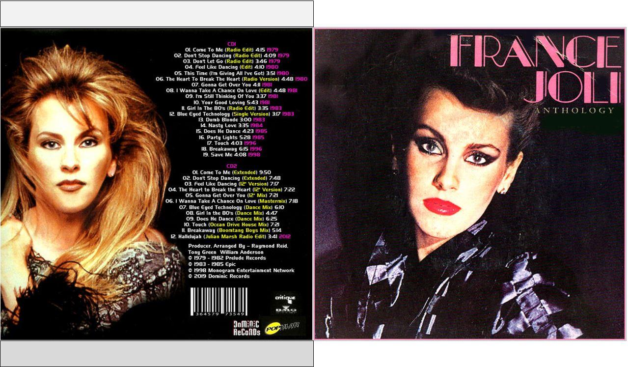 Musicollection France Joli Anthology 1979 2012 2019