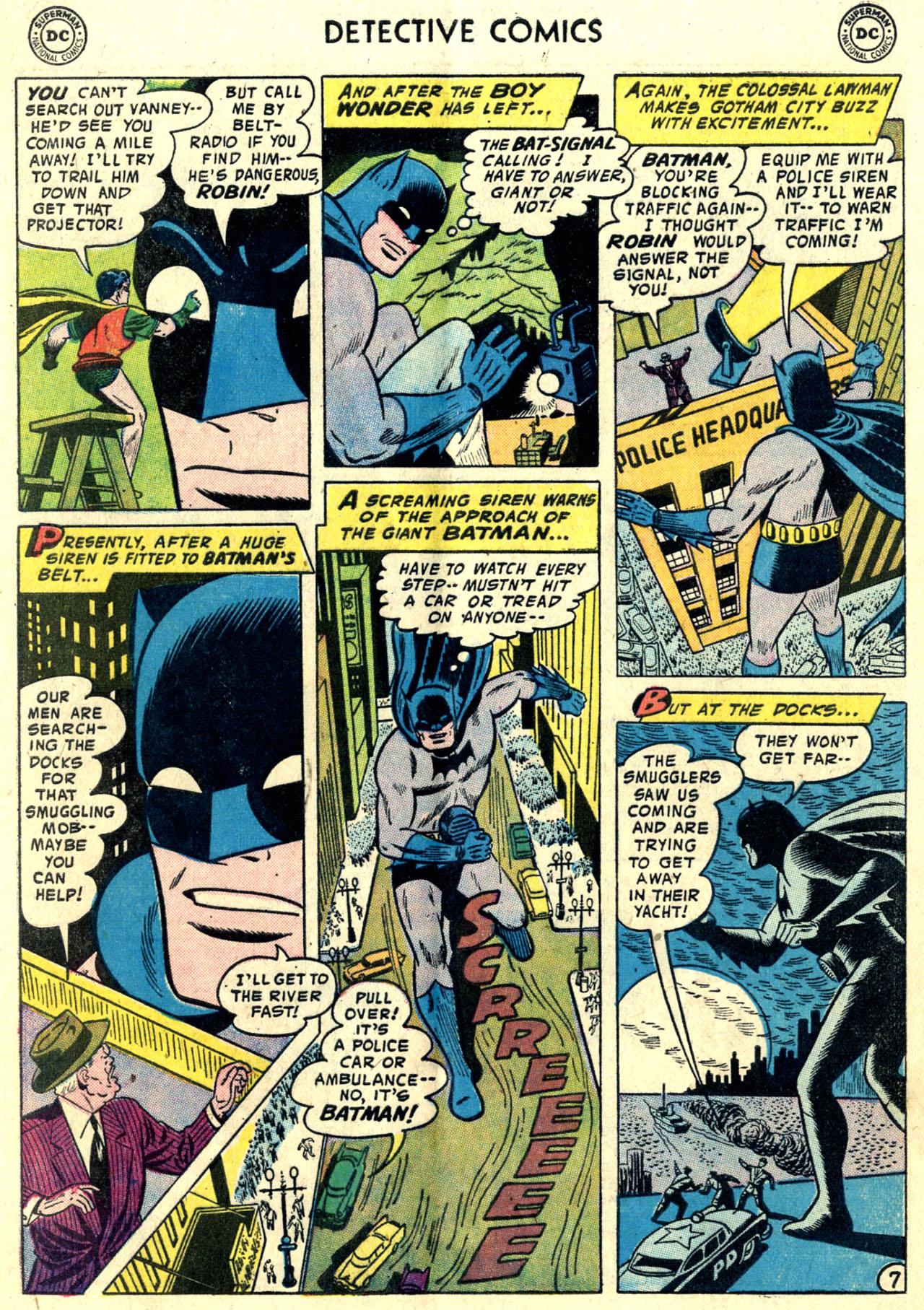Read online Detective Comics (1937) comic -  Issue #243 - 9