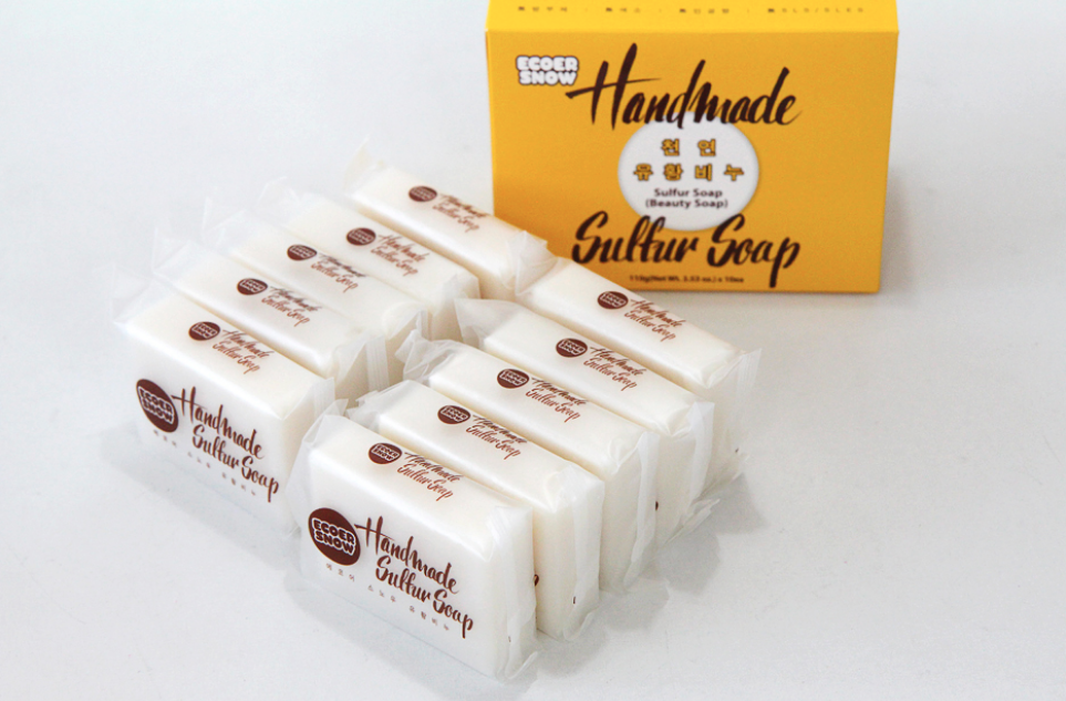 GCOOP Sulfur Soap   Highly commanding for Eczema, Psoriasis