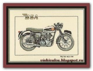 """Heritage Crafts Серия: Motorbikes CBS232 1956 """"BSA Gold Star"""""""