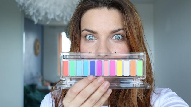 Le défi de la palette fluo